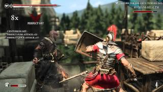 Ryse: Son of Rome gameplay - max settings