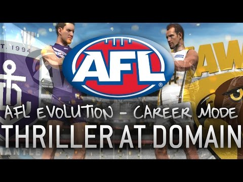 THRILLER AT DOMAIN - AFL Evolution Nail-Biting Finish