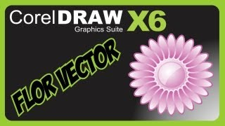 Criando Flor Vector, Corel DRAW x6  (Vídeo Aula)