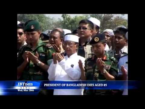 President Of Bangladesh, Zillur Rahman Dies Aged 85