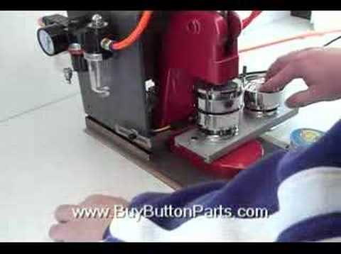 machine for covering buttons