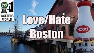 Visit Boston - 5 Things You Will Love & Hate about Boston, USA thumbnail