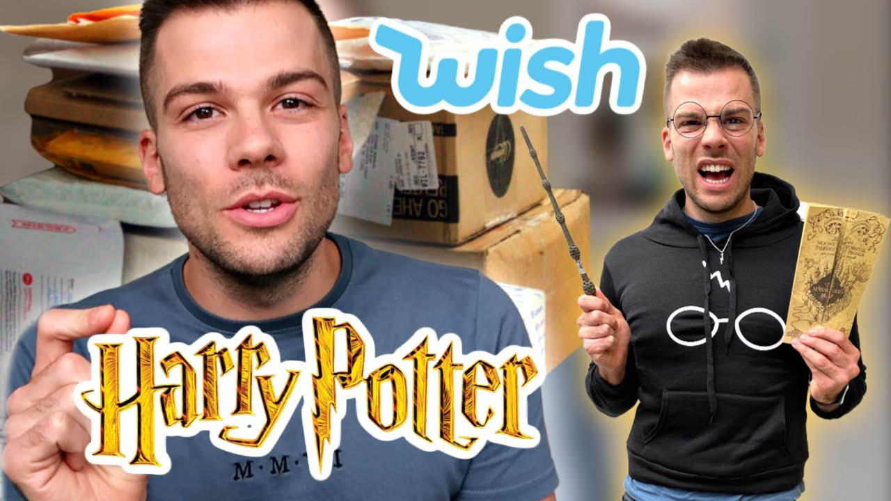 Testing HARRY POTTER Wish Products! ✨