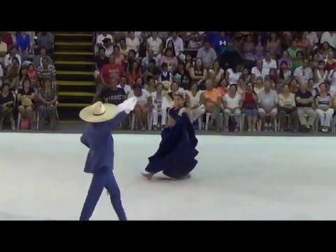 Asia 2016. Su Majestad Camila Vermejo y el Campeon de Campeones Miguel Sandoval