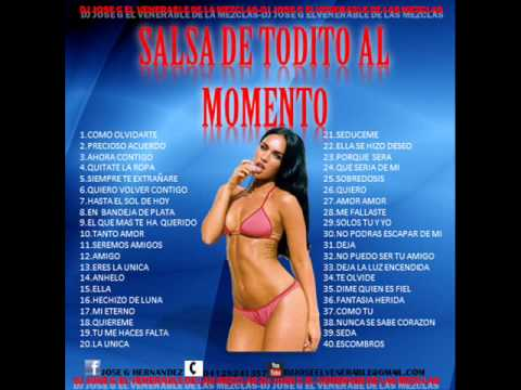 SALSA DE TODITO  AL MOMENTO