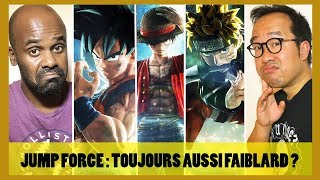 JUMP FORCE : on y a rejoué, toujours mal engagé ? (Dragonball, Naruto, One Piece)