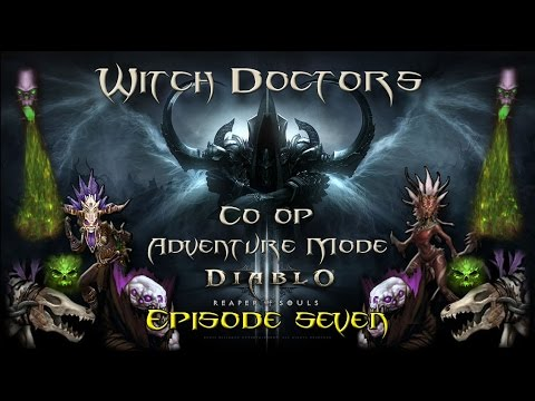 Diablo 3 RoS PS4 Coop Witch Doctor Gameplay Ep:7