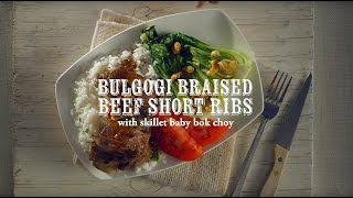 Stewing/simmering How-to: Bulgogi-style Braised Beef With Skillet Baby Bok Choy