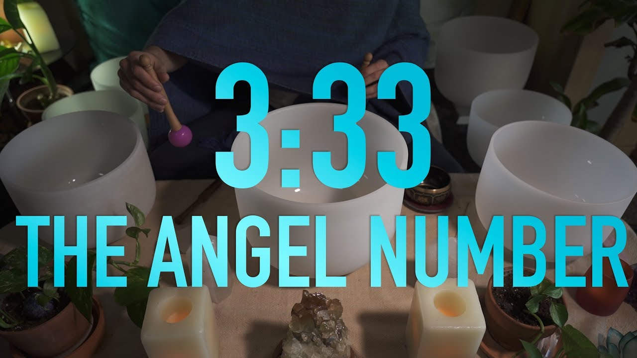 3:33 - The Angel Number - Crystal Singing Bowl Sound Bath (No Talking)
