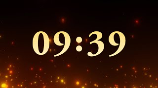 10 Minutes Countdown Timer (Sparks)
