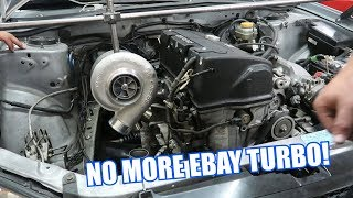 Making a New Turbo Manifold for the Hondaru!
