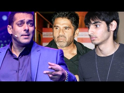 After Athiya, Salman Khan to launch Suniel Shetty's son Aahan