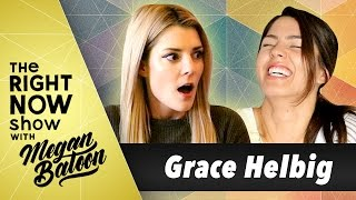 French Fry Challenge vs. Grace Helbig 🍟 | The Right Now Show