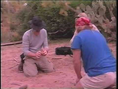 2001 CBS TV News Desert Survival Skills