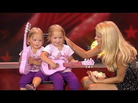 Supertalent 2012 Die Schmeiser-Zwillinge