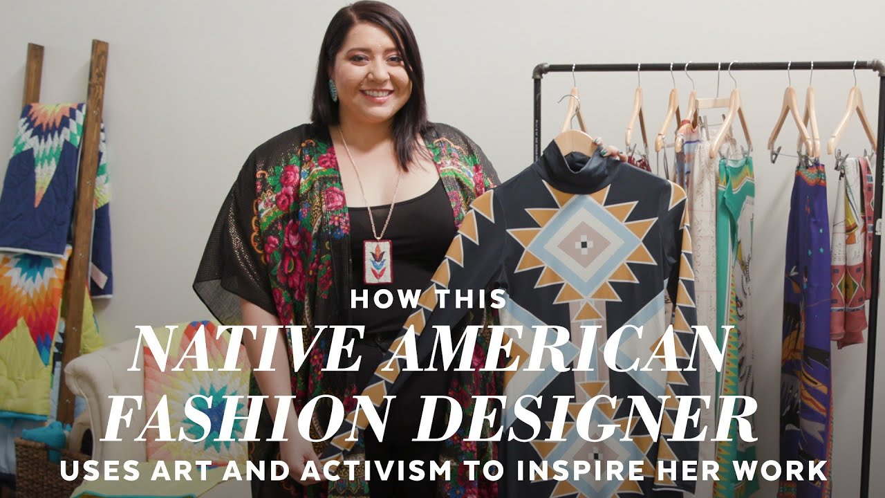 How Fashion Designer Bethany Yellowtail Celebrates Her Native American Heritage Youtube