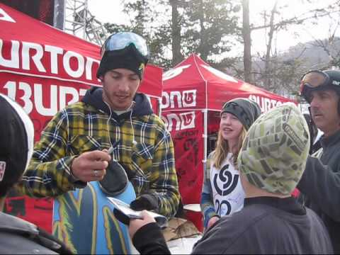 US Open Snowboarding 2010 Men's Halfpipe Interviews - Peetu, Kazu, Iouri, Scotty Lago and Janne