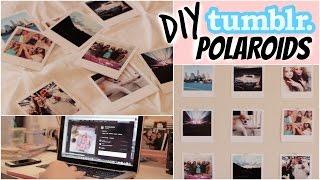 DIY Polaroids (Tumblr Inspired Room Decor)   Cheap & Easy   Kenzie Elizabeth