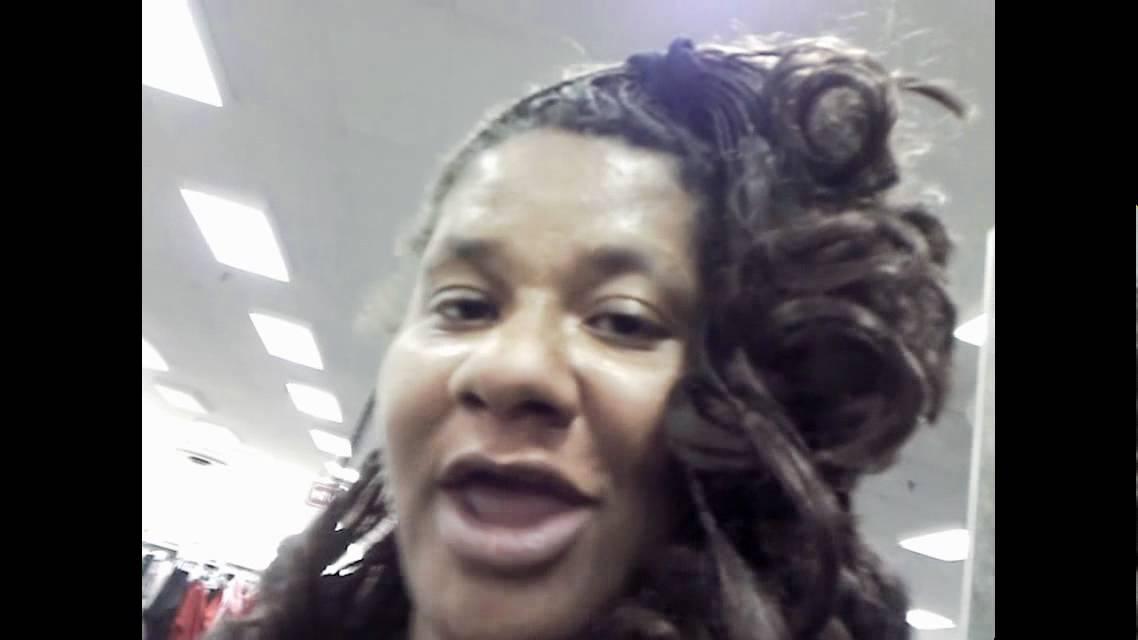 fat black woman goes shopping