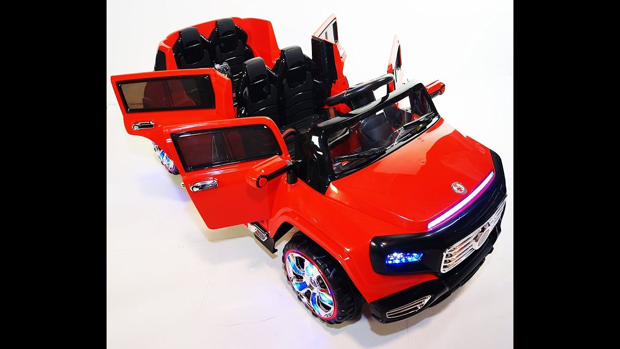 New 4 Doors Battery Operated Ride On Toy Car With Remote Control 12