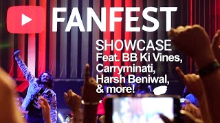Youtube FanFest Delhi 2019 Vlog (feat. BB Ki Vines, Carryminati, Harsh Beniwal & more!)