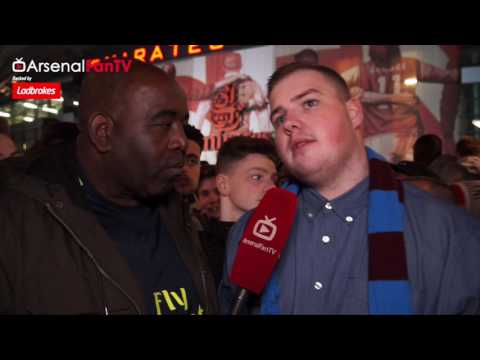 Arsenal 3 West Ham 0 | We'll Take Wenger If He Leaves says West Ham Fan