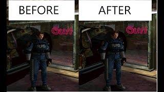 Resident Evil 2 On Dolphin Custom HD Texture pack Showcase  [LINK IN DESCRIPTION]