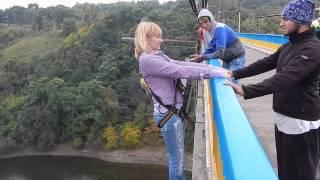 RopeJumping с моста в Житомире