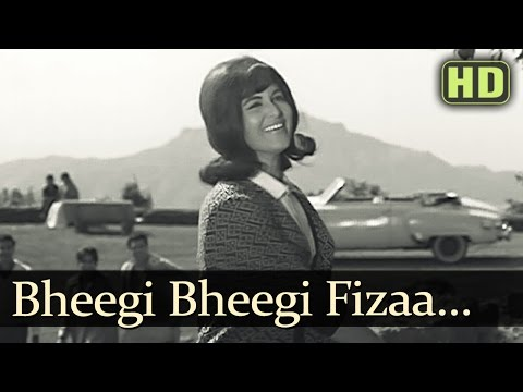 Bheegi Bheegi Faza - Shashi Kala - Anupama - Asha Bhosle - Hemant Kumar - Dharmendra - EvergreenSong