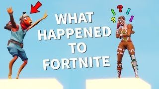 WHAT HAPPENED TO FORTNITE?