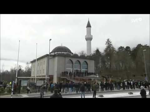 Adhan (appel public à la prière) à travers l'Europe, les Etats-Unis, le Japon et l'Australie