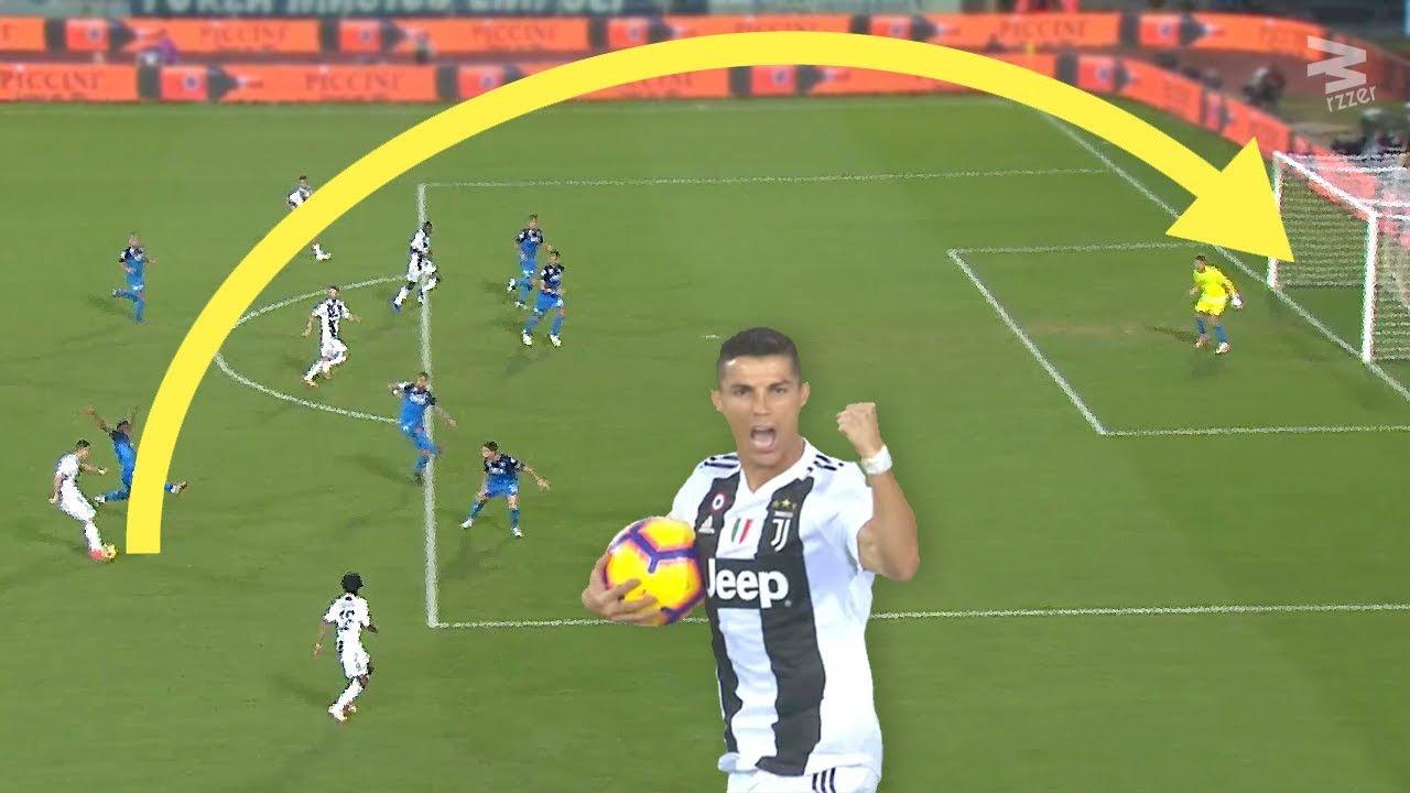 20 Monstrous Long Shots By Cristiano Ronaldo Youtube