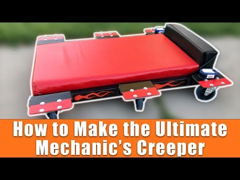 How To Make The Ultimate DIY Mechanic's Creeper