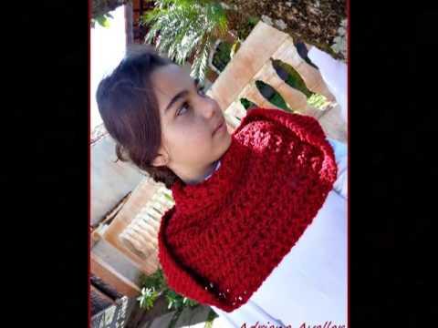 Gola capuz invertida em trico - YouTube 54625d7c526