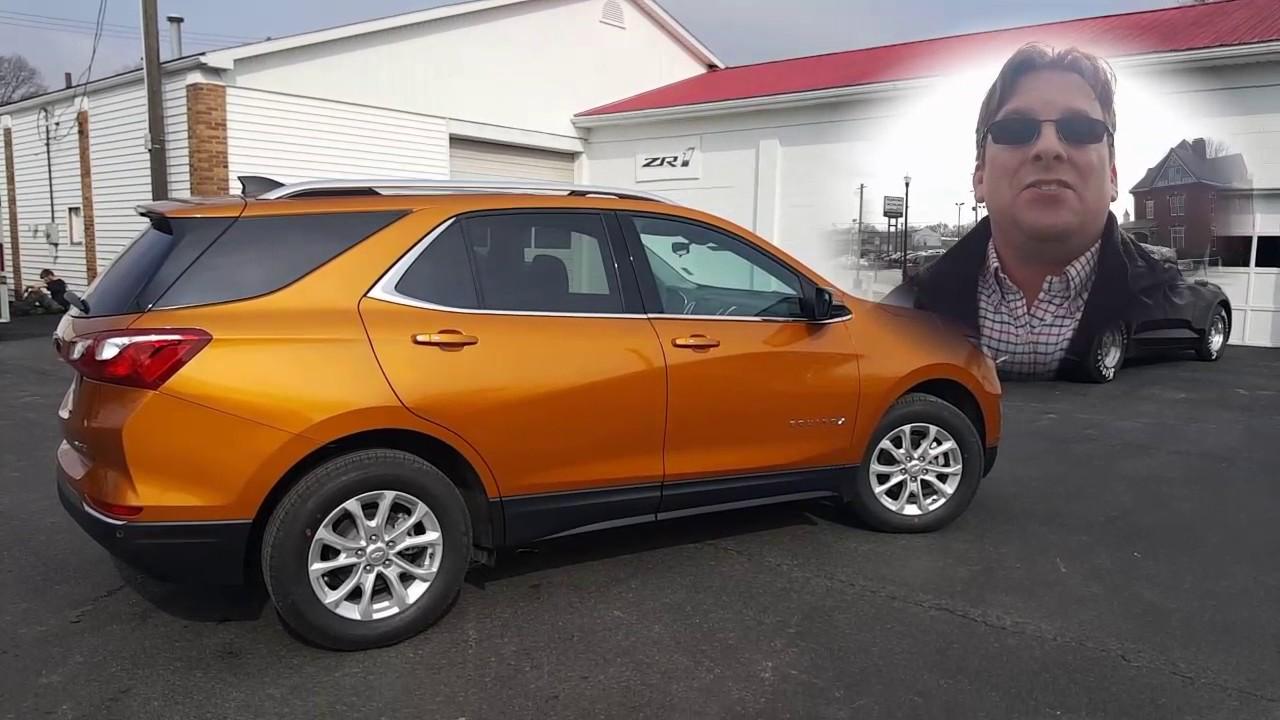 Chevy Equinox Lt >> 2018 Chevrolet Equinox LT 1.5 Turbo Orange Burst Metallic - YouTube