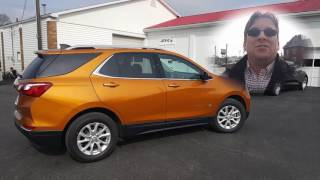 2018 Chevrolet Equinox LT 1.5 Turbo Orange Burst Metallic