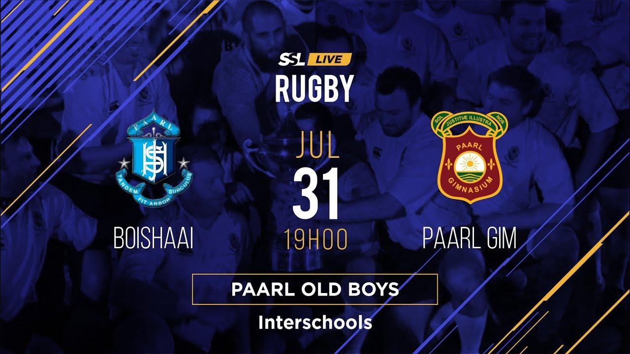 Paarl Interschools, Golden Oldies & Old Boys Games, 31 July, 2019