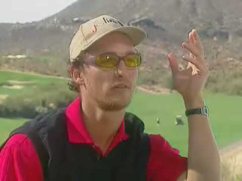 Matthew McConaughey won an Academy Award for Best Actor. Here's a GIF of his golf swing