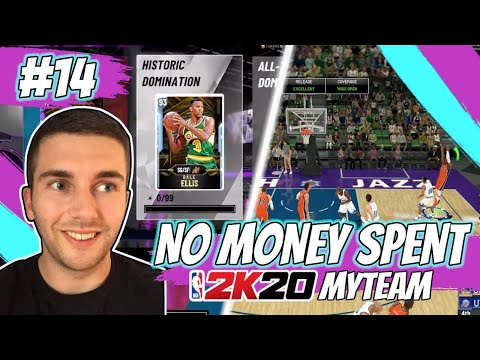 NBA 2K20 MYTEAM OUR FIRST HISTORIC DOMINATION GAME! RUBY WADE SCORES 60 | NO MONEY SPENT EPISODE #14