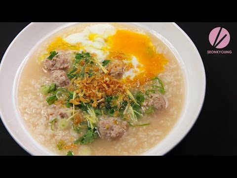 Asian at Home | Thai Chicken & Rice Soup, Khao Tom Gai