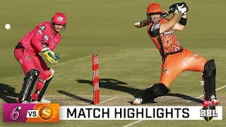 Sixers ease clear atop BBL|10 after outclassing Scorchers