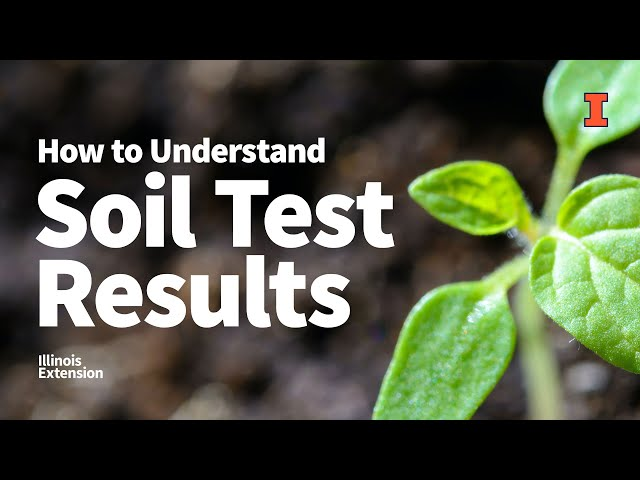 How to Understand #Soil Test Results