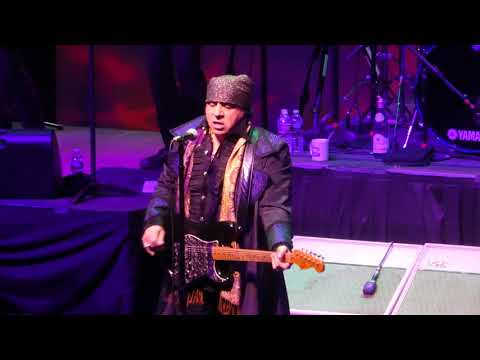 """""""All Alone on Christmas"""" Little Steven & Disciples of Soul@Count Basie Red Bank, NJ 12/23/17"""