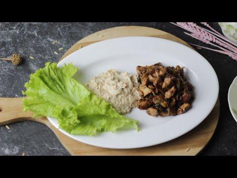 Resep Ayam Teriyaki Selada & Oatmeal Quaker Oats - Menu Diet Makan Malam #oatmeal #teriyaki # ...