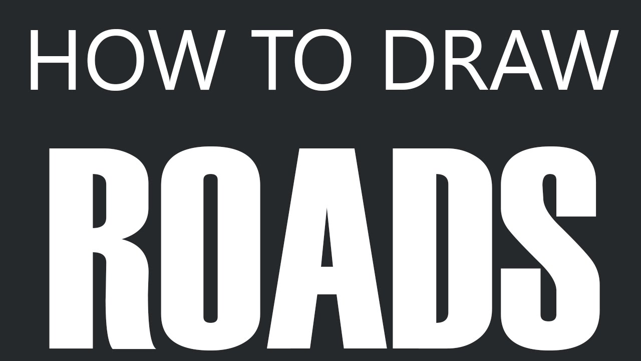 How To Draw A Road  Winding Road Drawing (windy Streets)