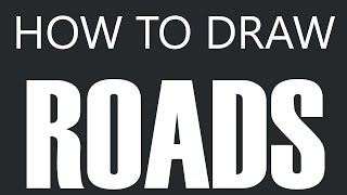 How To Draw A Road - Winding Road Drawing (Windy Streets)
