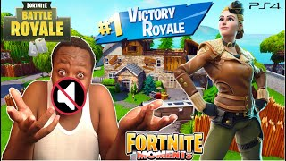 THE LOUDEST KENYAN FORTNITE PLAYER TRIES TO PLAY WITHOUT TALKING!!