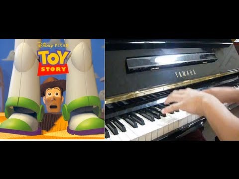 Disney/Pixar - Toy Story Theme - You've Got A Friend In Me (Piano Cover)