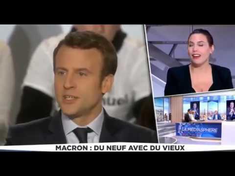 L'homosexualité du nouveau président  Macron révélée en direct sur LCI 9ème minute
