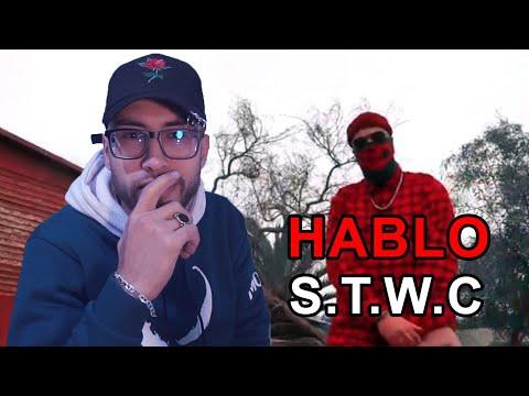 HABLO - S. T. W. C (official Freestyle Video) (Prod By Hades) REACTION هابلو جاي هاجم على الروابا